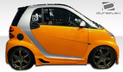 Smart ForTwo FX Duraflex Side Skirts Body Kit 2008-2015