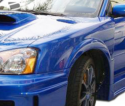 Subaru Impreza 4DR C-GT Duraflex Body Kit- Wide Fenders 2004-2005