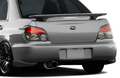 Subaru Impreza 4DR C-Speed 2 Duraflex Rear Add On Body Kit Bumper 2004-2007