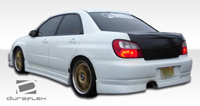 Subaru Impreza 4DR C-Speed Duraflex Rear Body Kit Bumper 2002-2003