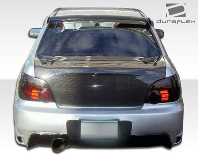 Subaru Impreza 4DR I-Spec Duraflex Rear Body Kit Bumper 2004-2007