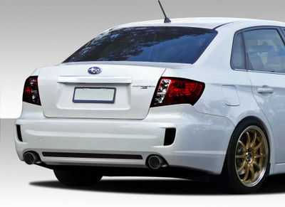 Subaru Impreza 4DR STI Look Duraflex Rear Body Kit Bumper 2008-2011