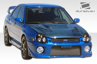Subaru Impreza 4DR Zero Duraflex Front Body Kit Bumper 2002-2003