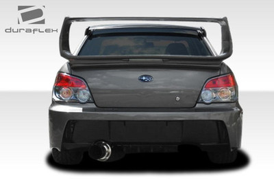Subaru Impreza 4DR Z-Speed Duraflex Rear Body Kit Bumper 2004-2007
