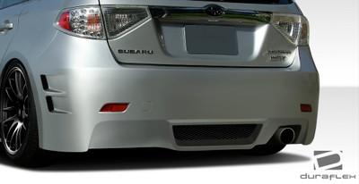 Subaru Impreza 5DR C-Speed 3 Duraflex Rear Body Kit Bumper 2008-2011