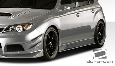 Subaru Impreza 5DR VR-S Duraflex Side Skirts Body Kit 2008-2014
