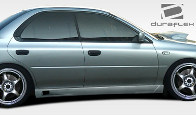 Subaru Impreza I-Design 2 Duraflex Side Skirts for Wide Body Kit 1993-2001