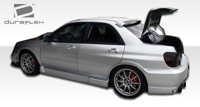 Subaru Impreza I-Spec Duraflex Side Skirts Body Kit 2002-2007
