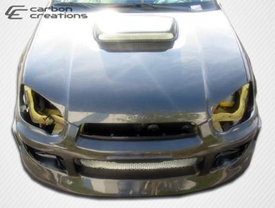 Subaru Impreza STI Look Carbon Fiber Creations Body Kit- Hood 2004-2005