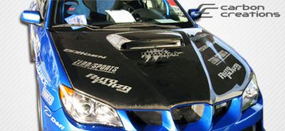 Subaru Impreza STI Look Carbon Fiber Creations Body Kit- Hood 2006-2007