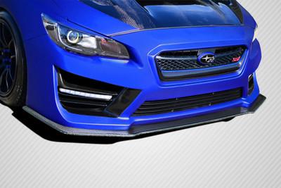 Subaru WRX NBR Concept Carbon Fiber Front Bumper Lip Body Kit 2015-2015