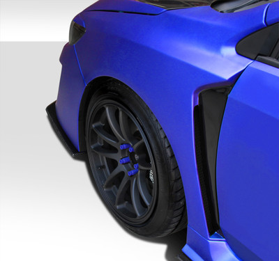Subaru WRX NBR Concept Duraflex Body Kit- Fenders 2015-2015