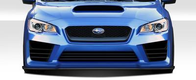 Subaru WRX NBR Concept Duraflex Front Bumper Lip Body Kit 2015-2015