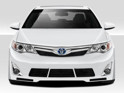 Toyota Camry Racer Duraflex Front Bumper Lip Body Kit 2012-2014