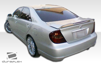 Toyota Camry Vortex Duraflex Rear Add On Body Kit Bumper 2002-2006