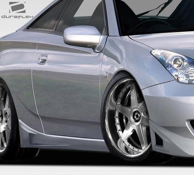 Toyota Celica RM Design Duraflex Side Skirts Body Kit 2000-2005