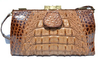 Beautiful 1920's-30's EDWARDIAN Hornback ALLIGATOR Skin Purse
