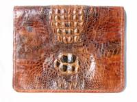 Large 1940's-50's HORNBACK CROCODILE Skin PORTFOLIO Case