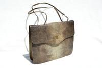 Lovely 1950's-60's LIZARD Skin Handbag Shoulder Bag