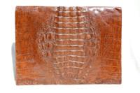 XXL 1940's-50's HORNBACK CROCODILE Skin PORTFOLIO Case