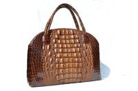 XL 1930's-40's HORNBACK ALLIGATOR Skin Carry CASE Bag
