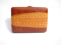 1940's-50's HORNBACK Crocodile Skin Card or Cigarette Case