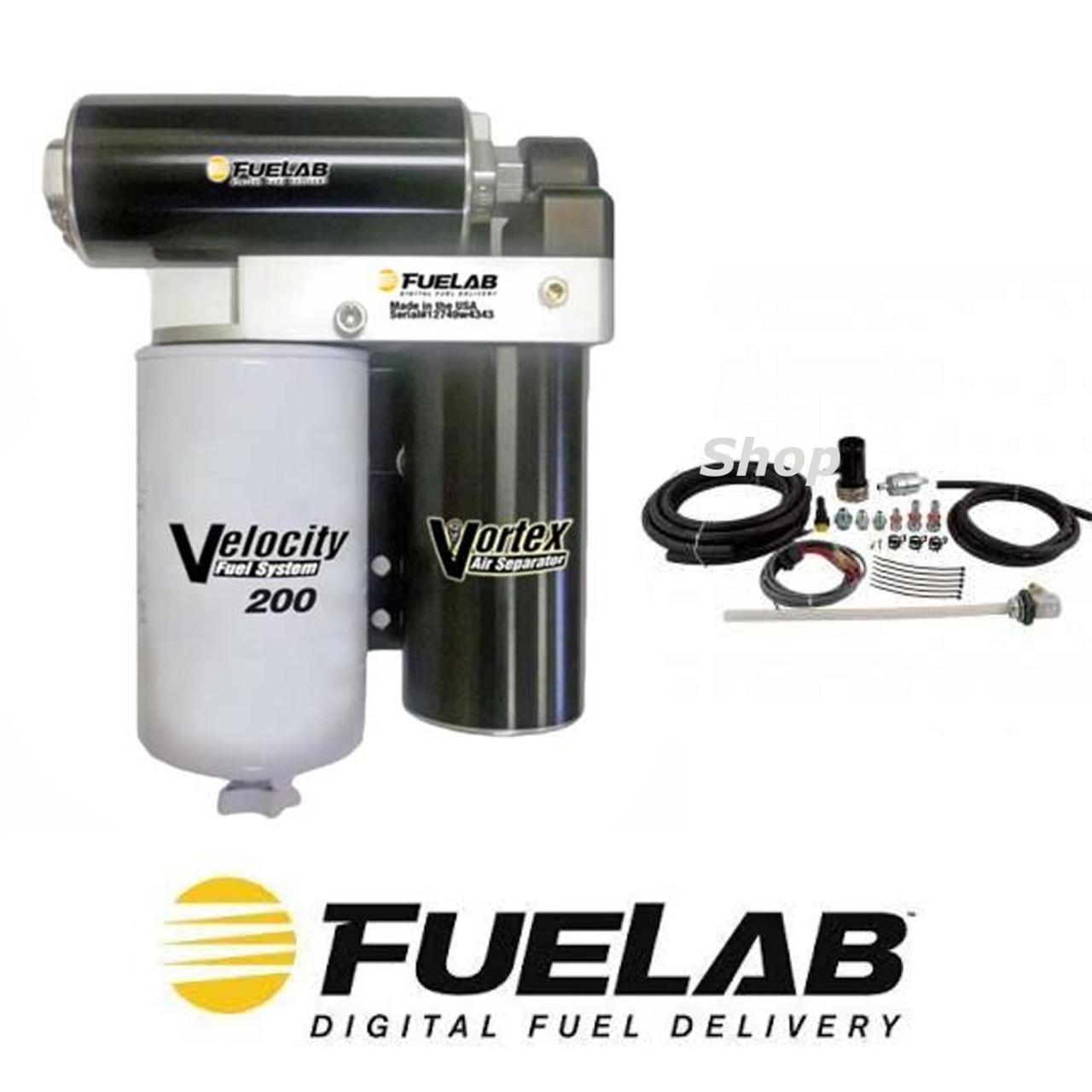Fuelab 200GPH Diesel Pump System 2001-2010 Chevy/GMC Duramax 6 6L