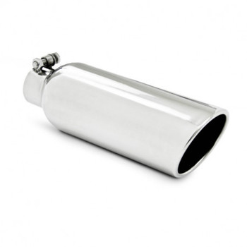 """Universal Stainless Steel 2.25"""" Inlet / 4"""" Outlet 12"""" Length"""