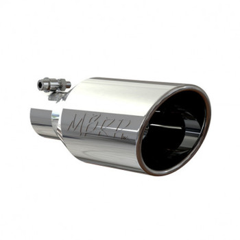 """Universal T304 Stainless Steel  2.5"""" Inlet / 4.5"""" Outlet 11"""" Length"""