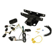 Rugged Ridge Trailer Hitch Kit With Wiring Harness