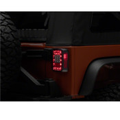 Rugged Ridge Smoked LED Tail Light Kit