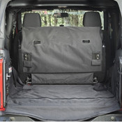 Rugged Ridge C3 Cargo Cover With Subwoofer