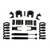 Maxtrac Suspension Chevy Silverado 1500 Lowering Spring Kit