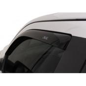AVS 2pc Dark Smoke Tape-On Vent Visors 2017-2020 Ford SuperDuty