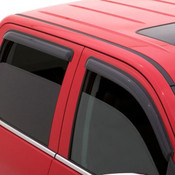 AVS 4pc Dark Smoke Tape-On Vent Visors 1999-2016 Ford SuperDuty