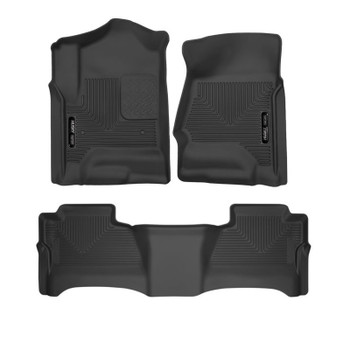 53911-53901 Husky Full Coverage Floor Liners-GMC