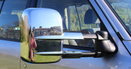 Nissan patrol GU Series towing mirrors chrome finish