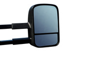 TOYOTA LANDCRUISER 100 SERIES EXTENDABLE TOWING MIRRORS - BLACK FINISH
