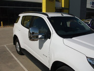 Holden Colorado 7 towing mirrors with chrome