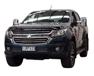 Chrome extendable towing mirrors installed onto holden colorado RG ute
