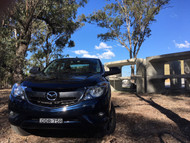 MAZDA BT-50 UTE SERIES TOWING MIRRORS BLACK
