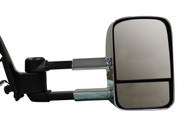 TOYOTA HILUX KUN SERIES EXTENDABLE TOWING MIRRORS - CHROME WITH INDICATORS