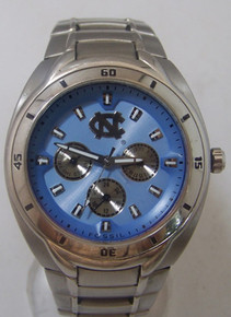 UNC Tarheels Fossil watch Mens Multifunction North Carolina Wristwatch