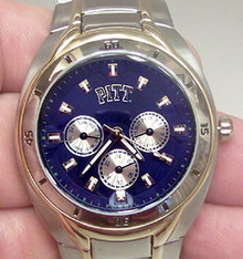 Pittsburgh Pitt Panthers Fossil Watch mens Multifunction Wristwatch