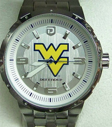 West Virginia Mountaineers Fossil Watch Mens Large Logo Li3104