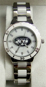 New York Jets Pearl Watch Game Time Gametime  MOP Womens NFL-PEA-NYJ