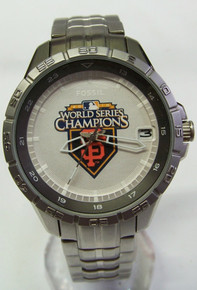 San Francisco Giants 2010 World Series Champions Fossil Watch