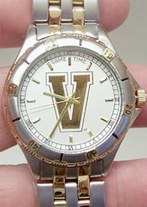 Vanderbilt University Watch Gold  Game Time General Manager watch