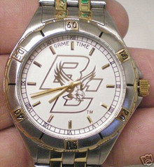 Boston College GameTime Game time Gold Logo General Managers Watch