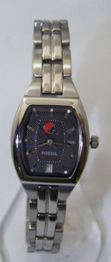 Cleveland Browns Fossil Watch Ladies Three Hand Date Cushion NFL1182
